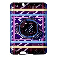 Abstract Sphere Room 3d Design Kindle Fire Hdx Hardshell Case by Nexatart