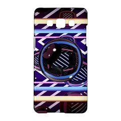 Abstract Sphere Room 3d Design Samsung Galaxy A5 Hardshell Case  by Nexatart