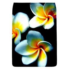 Flowers Black White Bunch Floral Flap Covers (s)  by Nexatart