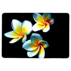 Flowers Black White Bunch Floral Ipad Air 2 Flip by Nexatart