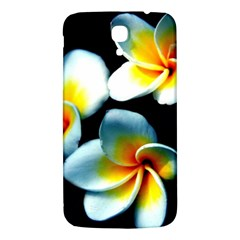 Flowers Black White Bunch Floral Samsung Galaxy Mega I9200 Hardshell Back Case