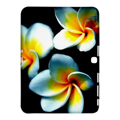 Flowers Black White Bunch Floral Samsung Galaxy Tab 4 (10 1 ) Hardshell Case