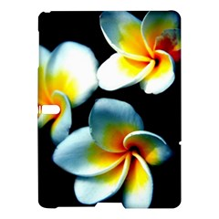 Flowers Black White Bunch Floral Samsung Galaxy Tab S (10 5 ) Hardshell Case