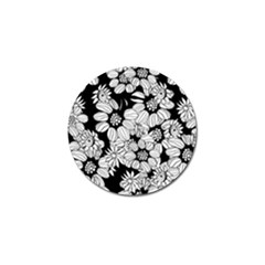 Mandala Calming Coloring Page Golf Ball Marker by Nexatart
