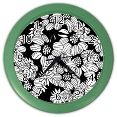Mandala Calming Coloring Page Color Wall Clocks by Nexatart