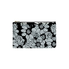 Mandala Calming Coloring Page Cosmetic Bag (small)  by Nexatart