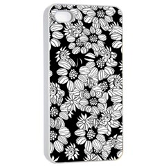 Mandala Calming Coloring Page Apple Iphone 4/4s Seamless Case (white) by Nexatart