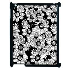 Mandala Calming Coloring Page Apple Ipad 2 Case (black) by Nexatart