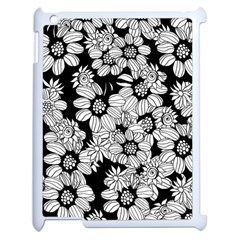 Mandala Calming Coloring Page Apple Ipad 2 Case (white)