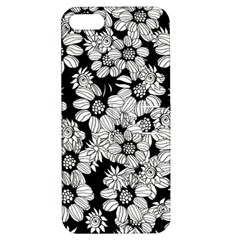 Mandala Calming Coloring Page Apple Iphone 5 Hardshell Case With Stand by Nexatart