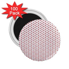 Motif Pattern Decor Backround 2 25  Magnets (100 Pack)