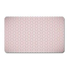 Motif Pattern Decor Backround Magnet (rectangular) by Nexatart