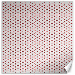 Motif Pattern Decor Backround Canvas 16  X 16