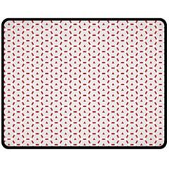 Motif Pattern Decor Backround Fleece Blanket (medium)