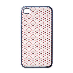 Motif Pattern Decor Backround Apple Iphone 4 Case (black)