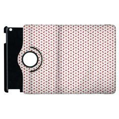 Motif Pattern Decor Backround Apple Ipad 2 Flip 360 Case by Nexatart