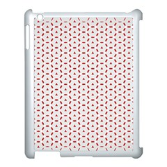 Motif Pattern Decor Backround Apple Ipad 3/4 Case (white) by Nexatart