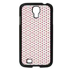 Motif Pattern Decor Backround Samsung Galaxy S4 I9500/ I9505 Case (black)