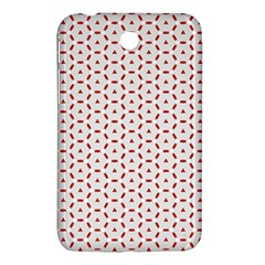 Motif Pattern Decor Backround Samsung Galaxy Tab 3 (7 ) P3200 Hardshell Case