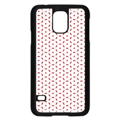 Motif Pattern Decor Backround Samsung Galaxy S5 Case (black)