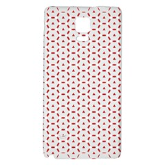 Motif Pattern Decor Backround Galaxy Note 4 Back Case by Nexatart