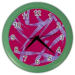 Background Vector Texture Pattern Color Wall Clocks