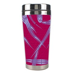 Background Vector Texture Pattern Stainless Steel Travel Tumblers by Nexatart