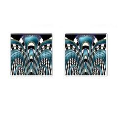 Abstract Art Design Texture Cufflinks (square) by Nexatart