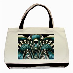 Abstract Art Design Texture Basic Tote Bag (two Sides) by Nexatart