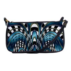 Abstract Art Design Texture Shoulder Clutch Bags by Nexatart