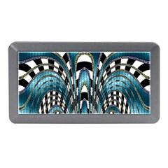 Abstract Art Design Texture Memory Card Reader (mini)