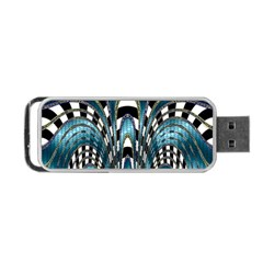 Abstract Art Design Texture Portable Usb Flash (two Sides) by Nexatart