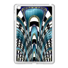 Abstract Art Design Texture Apple Ipad Mini Case (white)