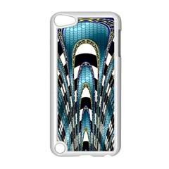 Abstract Art Design Texture Apple Ipod Touch 5 Case (white) by Nexatart