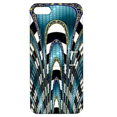 Abstract Art Design Texture Apple Iphone 5 Hardshell Case With Stand by Nexatart
