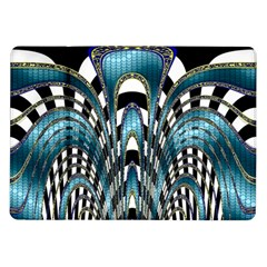 Abstract Art Design Texture Samsung Galaxy Tab 10 1  P7500 Flip Case