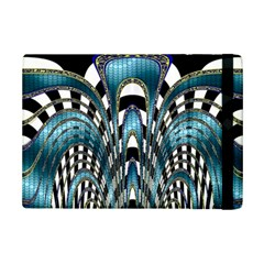 Abstract Art Design Texture Ipad Mini 2 Flip Cases by Nexatart