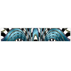 Abstract Art Design Texture Flano Scarf (large)