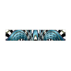 Abstract Art Design Texture Flano Scarf (mini)