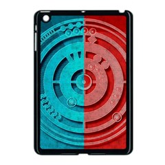 Vector Watch Texture Red Blue Apple Ipad Mini Case (black) by Nexatart