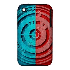 Vector Watch Texture Red Blue Iphone 3s/3gs