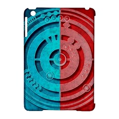 Vector Watch Texture Red Blue Apple Ipad Mini Hardshell Case (compatible With Smart Cover)