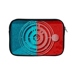 Vector Watch Texture Red Blue Apple Ipad Mini Zipper Cases