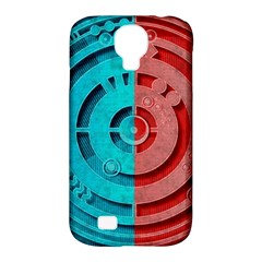 Vector Watch Texture Red Blue Samsung Galaxy S4 Classic Hardshell Case (pc+silicone)
