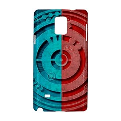 Vector Watch Texture Red Blue Samsung Galaxy Note 4 Hardshell Case
