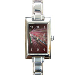 Pattern Flower Background Wallpaper Rectangle Italian Charm Watch