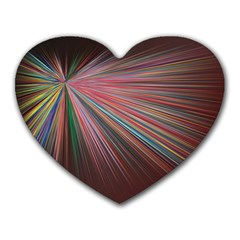Pattern Flower Background Wallpaper Heart Mousepads by Nexatart