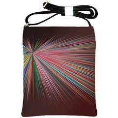 Pattern Flower Background Wallpaper Shoulder Sling Bags by Nexatart