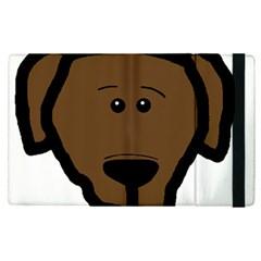 Choc Lab Head Apple iPad Pro 9.7   Flip Case by TailWags