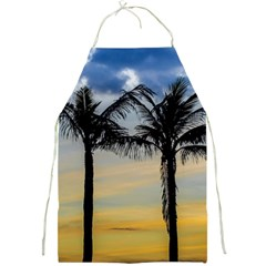 Palm Trees Against Sunset Sky Full Print Aprons by dflcprints